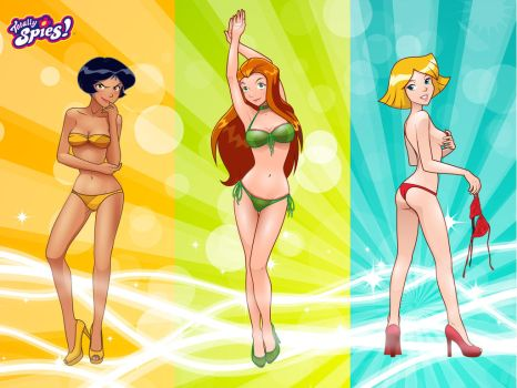 Totally Spies Wallpaper by gyrfalcon65