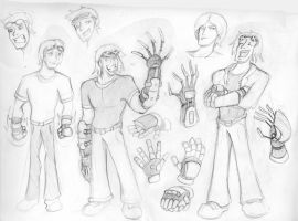 Runaways: Chase Sketches by MonteCreations