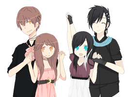 Genderbent Collab by Allyza-Awesome123