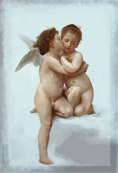 Cupid and Psyche by Norke