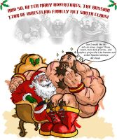XMAS Gief by streetfighterart