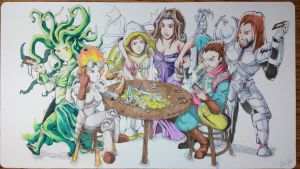 Custom Playmat: Magic The Gathering by ccayco