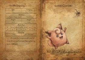 NO.035 Clefairy by Mummy-fei