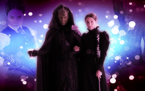 Vastra and Jenny widescreen wallpaper by Leda74