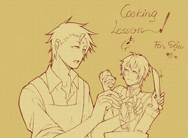 Cooking by EGGchibi