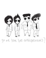 entrepreneur looks by noodlekiddo