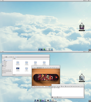 KDE side of desk by iacoporosso