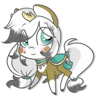 Experiment Chibi Artemis by Rannarbananar