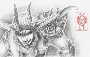 Jak and Daxter by LycanthropeHeart
