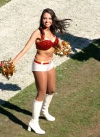 KC Chiefs Cheerleader 1 by ctjohnson58