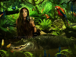 Jungle Queen by EnchantedWhispersArt