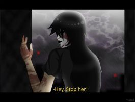 (CPOC) Fake Screenshot: Hey, stop her! by L0ra2