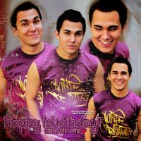 +Happy Birthday Carlos Pena by alwaysbemybtr