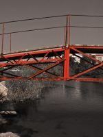 Red Bridge by Jannomag