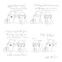 Howard The Cat #3: Old Friends by Wormed