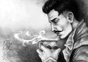 Morning tea with Dorian by yuhime