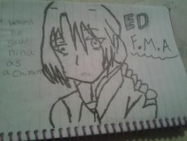 Edward Elric by monkee426