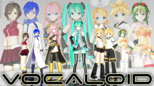 VOCALOID (poster) by switchdraw