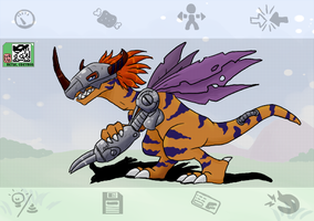 DU - Metal Greymon by pocket-arsenal