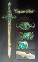 Crystal Soul Sword [Auction: CLOSED] by LuckySquid