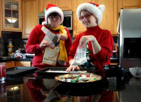 John and Jane: Bake Christmas Cookies by MisterFearless