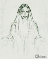 Some lady, fantasy style by quinum