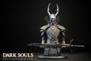 Dark Souls Black Knight by futantshadow