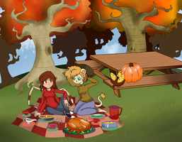 Happy Thanksgiving  by Ask-Jester-Queen