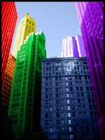New York Rainbow by Suziebob