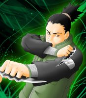 Gift for cao-cao: Shikamaru by grivitt