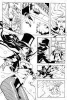 Zatanna Pages IV by xiannustudio