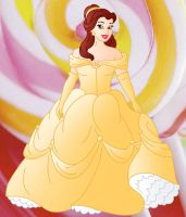 Plus size Princess: Belle by Willemijn1991