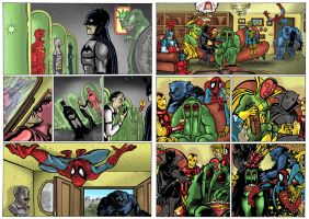DC vs Marvel.. not by mataiodoxia