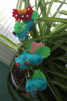 Bulbasaur Evolutions by mistoftime