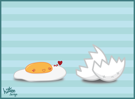Oooohhh egg love by HittenDesign
