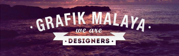 Grafik Malaya | We Are Designers by rexolution