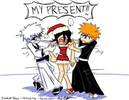 Poor little Rukia  XD by SakuraKaijuu
