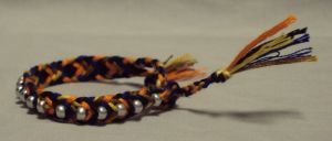 a friendship bracelet by ACrowsCollection