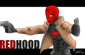 RedHood (Jason Todd) fanart by FlyEpic