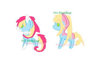 Cheap ponies 2 by Mifune-circus