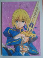 Saber by DraviciAndrei