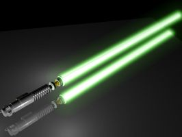 Lightsaber Model by Velaes