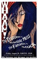 Whaam Gig Poster - Aug 28 2009 by Flash321