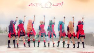 AKB0048 Cosplay by hoangversus