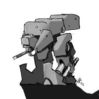Yet Another Chromehounds Mech by Rafta