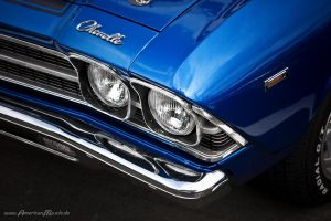 blue chevelle. by AmericanMuscle