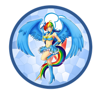 Rainbow Dash - Render by AyaYanagisawa
