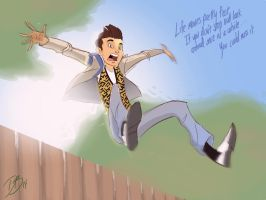 Ferris Bueller's Day Off Sketch by DaveJorel