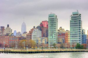 The Colors of Manhattan by alahay
