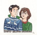 Cati and Andreas [Happy belated birthday!] by Kirschpraline